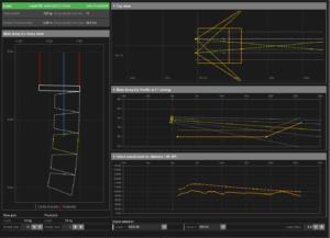 A screenshot of d&b audiotechnik's ArrayCalc